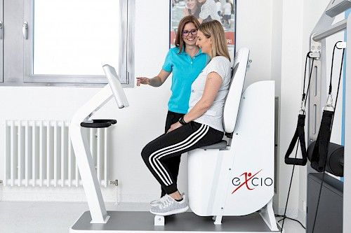 Beckenbodentraining excio-Pelvictrainer Ludwigsburg